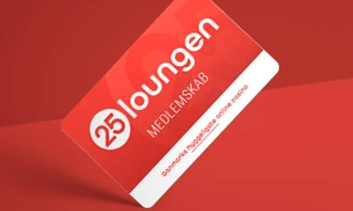 Tilmeld dig 25-loungen og få adgang til specielle tilbud og kampagner