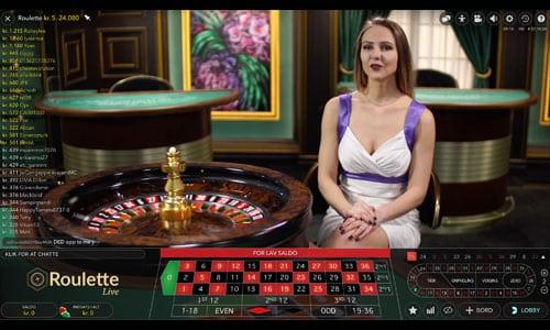 888 Casino tilbyder et stort og varieret udbud af live casino spil