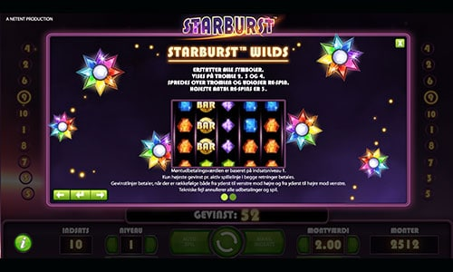 Starburst er måske verdens mest populære spilleautomat