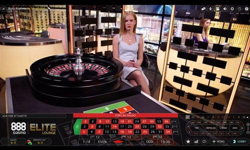 Du kan naturligvis spille imod live dealere hos 888 Casino
