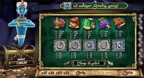 Jagt den store milliongevinst på Millionaire Genie fra 888 Casino