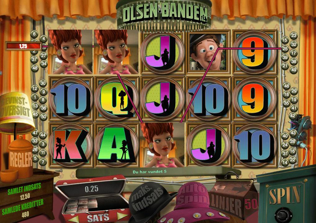 Olsen Banden spilleautomaten fra Danske Spil er vel nok en af de bedste og meste populære eksklusive casinospil på markedet