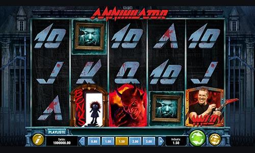 Prøv Annihilator-spilleautomaten hos NordicBet