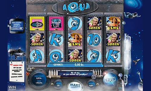 Spil Aqua-spilleautomaten hos Danske Spil Casino
