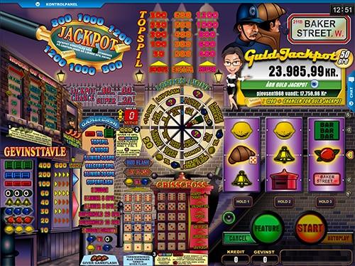 Baker Street byder på op til flere lækre bonusspil