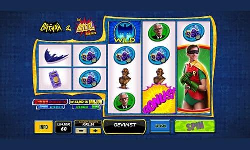 Batman & The Batgirl Bonanza spiller du hos Bet365 Casino