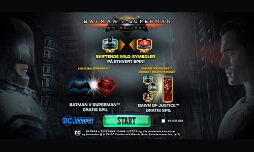 Spil Batman v Superman: Dawn of Justice hos Bet365 Casino