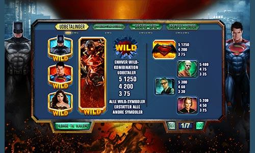 Spil Batman vs. Superman Dawn of Justice hos Bet365 Casino