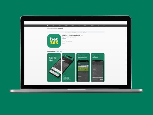 Hent Bet365 app'en i Apples App Store