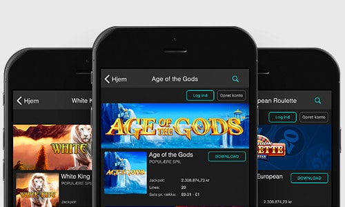 Du kan tilgå Bet365 Casino på flere devices - bl.a. din mobil