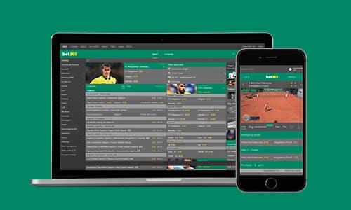 Hos Bet365 kan du få en bonus - uanset om du spiller på mobil, tablet eller desktop