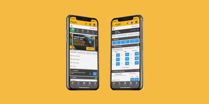 Spil med den flotte Betfair app hos Betfair