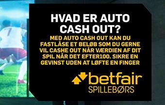 Auto cash out er en lækker lille detalje fra spillebørsen