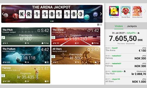 Unibet Bingo har en af markedet største jackpots