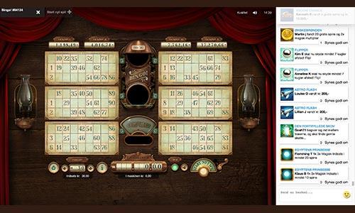 Hos Pip.dk kan du spille bingo