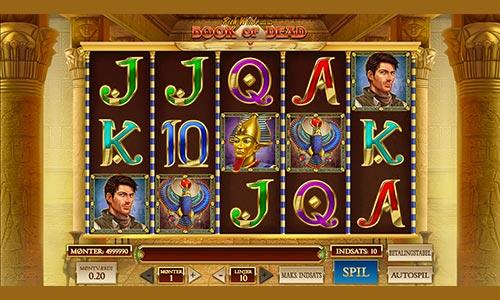 Book of Dead er en af markedets absolut mest populære spilleautomater