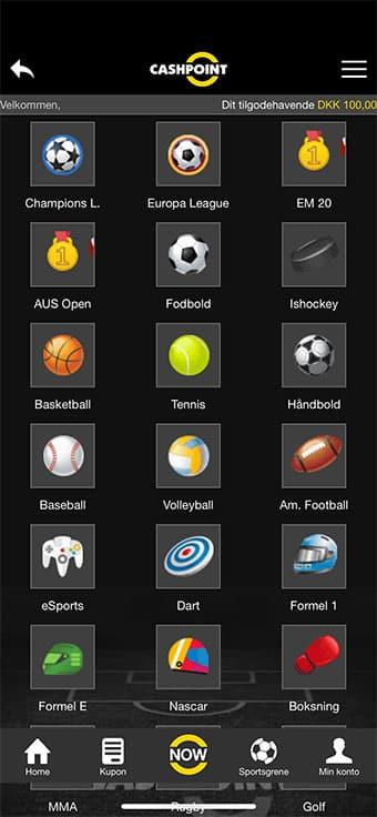 Tjek dette touchpoint-interface på mobilen