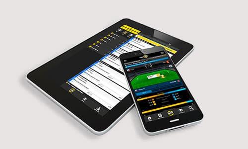 Cashpoint kan tilgås på mobile enheder som f.eks. en smartphone og tablet