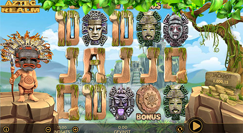 Aztec Realm er navnet på en stor casino jackpot hos 888 Casino