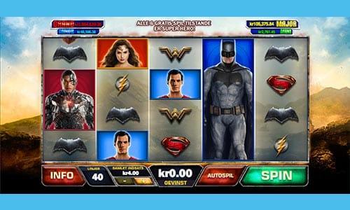 Jagt den store casino jackpot med din favorit superhelt