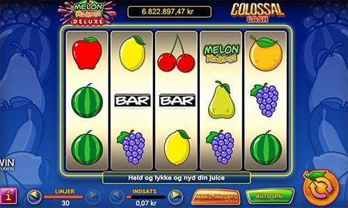 Vind den store jackpot på spilleautomaten Melon Madness