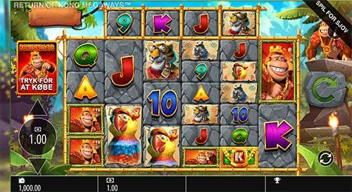 Spil casino uden indskud hos LeoVegas Casino