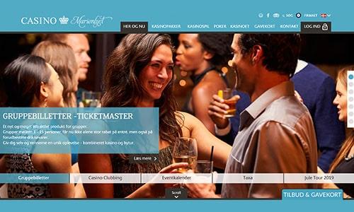 Casinoer i Danmark - Casino Marienlyst ligger i luksuriøse omgivelser i Helsingør