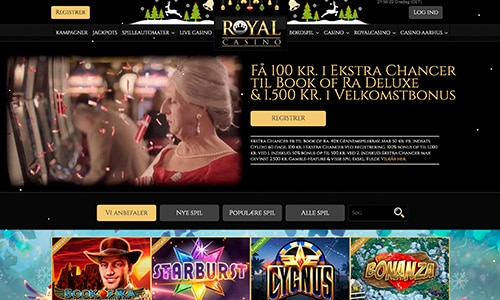 Casinoer i Danmark - Royal Casino tilbyder også online casino