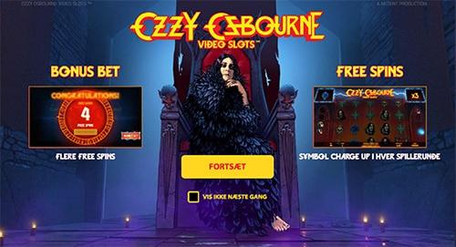 Ozzy Osbourne har fået sin helt egen spilleautomat