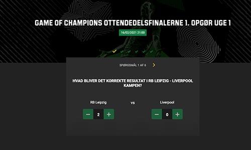 Vind 250.000 kr. i Champions League Predictor konkurrence
