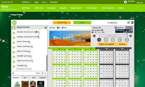 Danske Spil Bingo har en fremragende bingosoftware