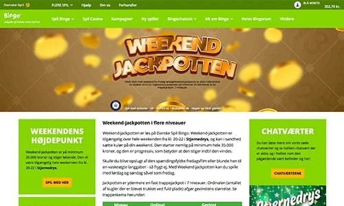Weekend Jackpotten er blot én af mange tilbud og kampagner