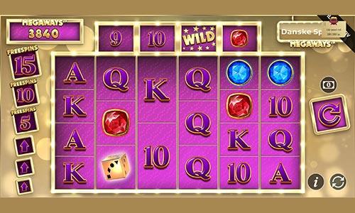 Danske Spil Megaways kan spilles hos Danske Spil Casino