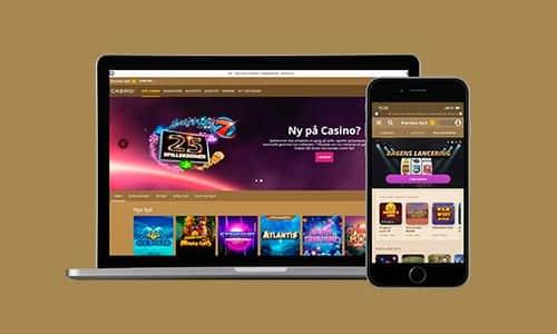 Du kan spille hos Danske Spil Casino på både desktop og mobil