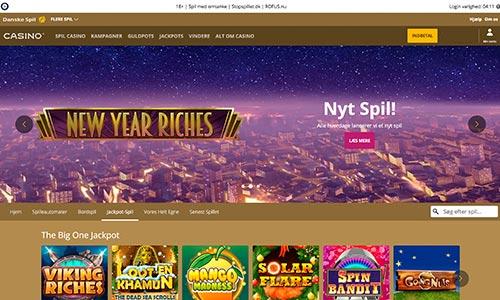 Danske Spil Casino præsenterer sine spil således