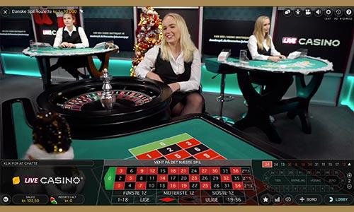 Spil Live Roulette hos Danske Spil Casino