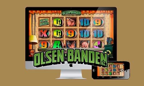 Markedets største spiludbyder står bag den populære Olsen Banden-spilleautomat