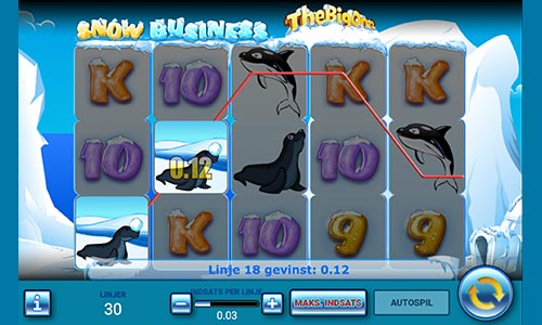 Spil Snow Business hos Danske Spil Casino