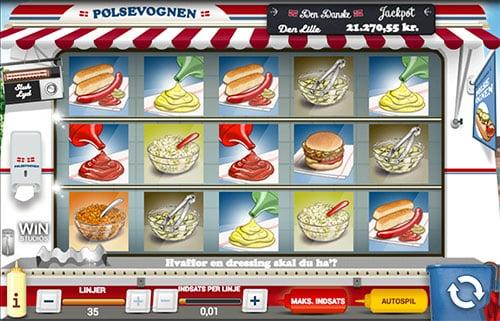 Spil Pølsevognen med din gratis bonus fra Danske Spil Casino