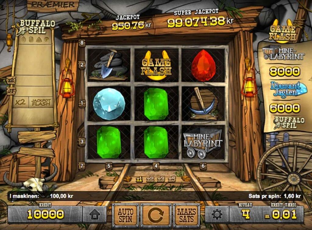 Diamond Express fra Spilnu er måske spiludbyderens bedste eksklusive casinospil
