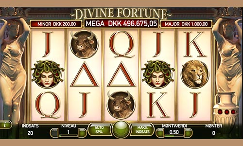 Jack Divine Fortune-jackpotten hos Playojo