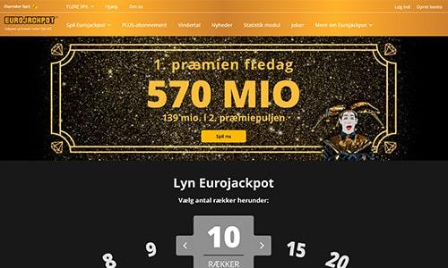 I Eurojackpot kan du vinde over en halv milliard danske kroner