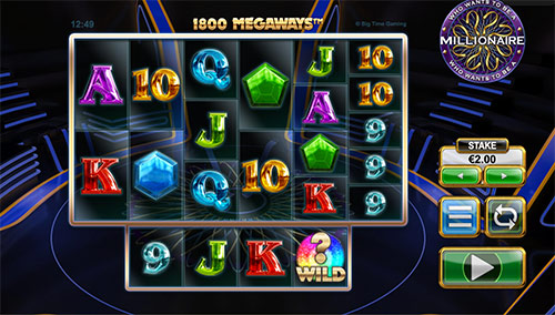 Få gratis freespins på spilleautomaten Who wants to be a millionaire