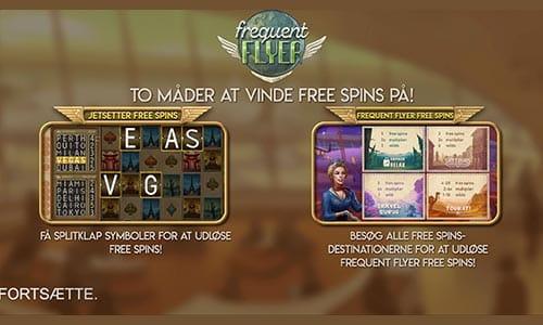 Prøv Frequent Flyer-spillet hos Maria Casino
