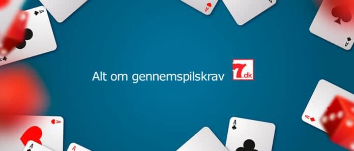 Hvad er et gennemspilskrav på et online casino??