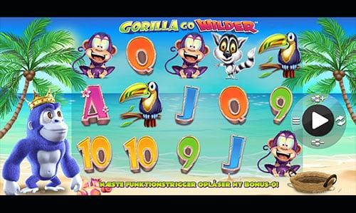 Gorilla Go Wilder er en fremragende spilleautomat fra NextGen