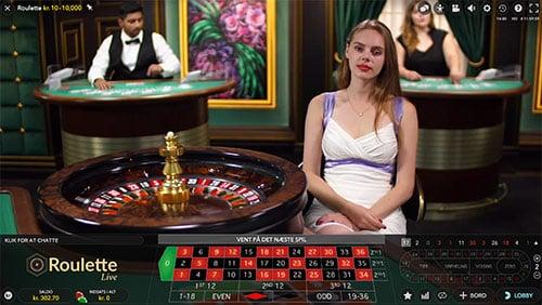 Spil live casino ganske gratis hos Danske Spil Casino