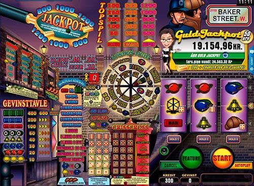 Hos Spillehallen kan du bl.a. udforske populære Baker Street