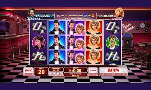 Spil Grease spilleautomaten hos Bet365 Casino