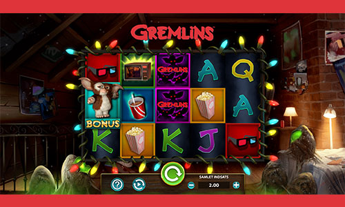 Spil Gremlins spilleautomaten hos LeoVegas Casino